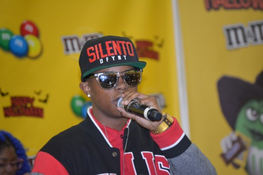 """Silento"" Partners With City Of Newark and M&Ms To Deliver Free Candy And Costumes To Children"