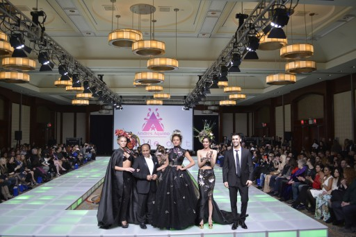 "Andres Aquino ""Belle Of The Ball"" To Promotes Fashion Equality At Couture Fashion Week"