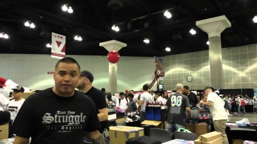 2015 BET FREE FAN FEST SNEAKER CON EXPERIENCE WITH STRUGGLE X LIFESTYLE