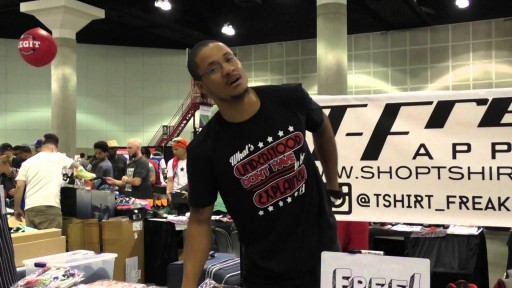 2015 BET FREE FAN FEST SNEAKER CON EXPERIENCE WITH T-FREAKS APPAREL (PART II)