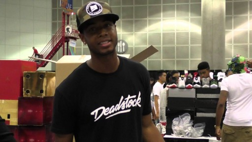 2015 BET FREE FAN FEST SNEAKER CON EXPERIENCE WITH DEAD STOCK INC.